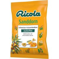 Ricola Kräuter Sanddorn, zuckerfrei 75g