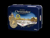 Dr. Quendt Dresdner Christstollen 500g, in Geschenkdose