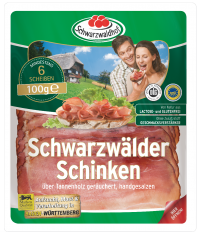Schwarzwälder Schinken sliced, 100g, Best Before 06.12.21