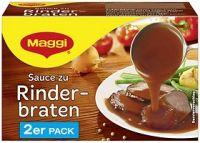 Maggi Sauce zu Rinderbraten, 2er Pack, Best Before 31.10.21