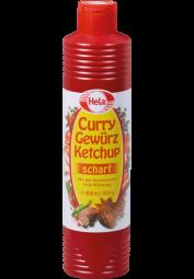 Hela Curry-Gewürzketchup, scharf