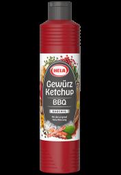 Hela Curry-Gewürzketchup, BBQ