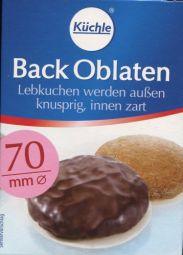Küchle Back Oblaten  70mm