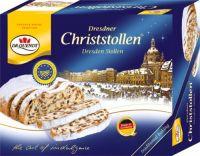 Dr. Quendt Dresdner Christstollen 500g, cardboard box