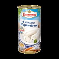 Zimmermann Münchner Weisswürste, tin