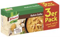 Knorr Rahm Sosse, 3er Pack