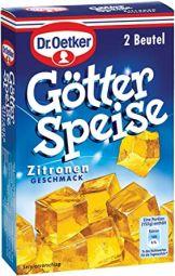Dr. Oetker Götterspeise Zitrone