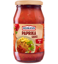 Homann Paprika Sauce Balkan Art (Zigeuner Sauce)
