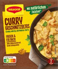 Maggi Fix Curry Geschnetzeltes