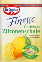 Dr.Oetker Finesse Geriebene Zitronenschale