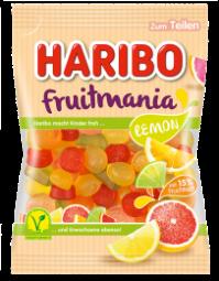 Haribo Fruitmania, Lemon, Best Before 31.10.21