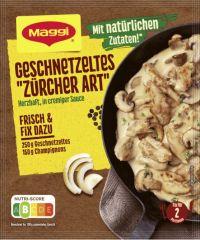 Maggi Fix Geschnetzeltes 'Züricher Art'