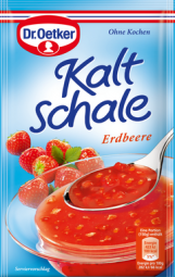 Dr. Oetker Kaltschale, Erdbeere