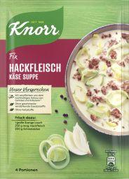 Knorr Fix Hackfleisch-Käsesuppe