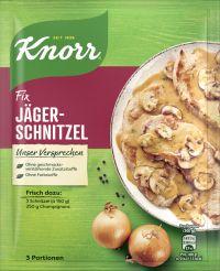 Knorr Fix Jäger-Schnitzel
