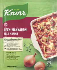 Knorr Fix Ofen-Makkaroni alla mamma