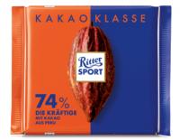 Ritter Sport 74% Die Kräftige Aus Peru