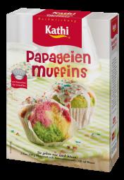 Kathi Papageien Muffins, baking mix