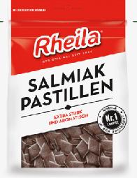 Rheila Salmiak Pastillen,90g bag