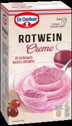 Dr. Oetker Rotwein Creme