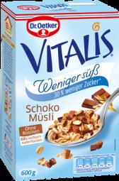 Vitalis Schoko Müsli, weniger süss