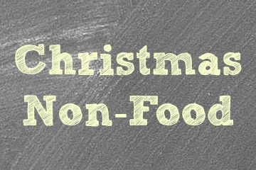 Christmas Non Food