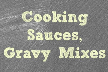 Cooking Sauces & Gravy Mixes