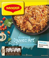 Maggi Fix Reisgericht 'Djuvec-Art'