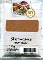 Gemara Sternanis, gemahlen