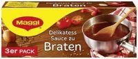 Maggi Delikatess Sauce zu Braten, 3er Pack