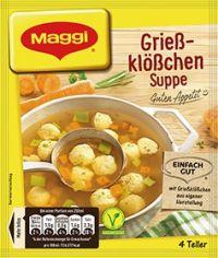 Maggi Grießklößchensuppe