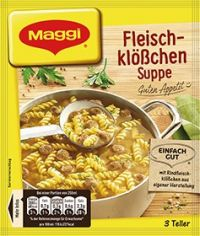 Maggi Fleischklößchensuppe