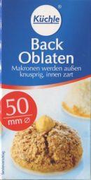 Küchle Back Oblaten  50mm