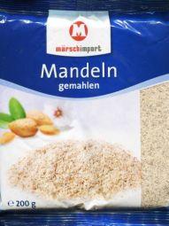 gemahlene Mandeln