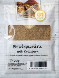 Gemara  Brotgewürz mit Kräutern