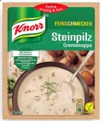 Knorr Steinpilz Cremesuppe