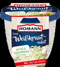 Homann Weisskrautsalat mit Dill 400g
