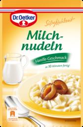 Dr. Oetker Milchnudeln, Vanille Geschmack