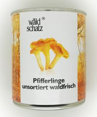 Pfifferlinge, 850ml tin