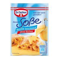 Dr.Oetker Dessertsoße, ohne Kochen