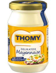 Thomy Delikatess Mayonnaise, jar