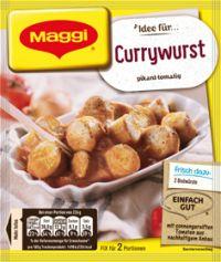 Maggi Fix Currywurst
