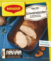 Maggi Fix Schweinebraten, Best Before Date 31.05.21