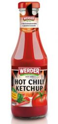 Werder Hot Chili Tomato Ketchup