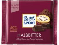 Ritter Sport Halbbitter, 50% Kakao