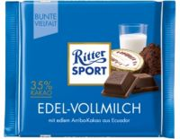 Ritter Sport Edel-Vollmilch