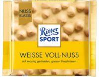 Ritter Sport  Weisse Voll-Nuss