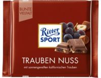 Ritter Sport Trauben Nuss, Best Before Date 16.05.21