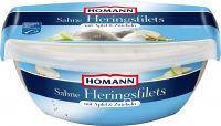 Homann Sahne Heringsfilets, Best Before Date 27.05.21