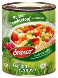 Erasco Bunter Gemüsetopf mit Nudeln